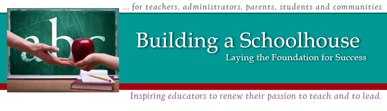 Inspiring teachers, principals, administrators, and communities to renew their passion to teach